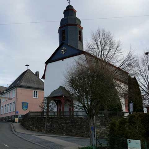 Gemeinde Gemmerich alte Kirche